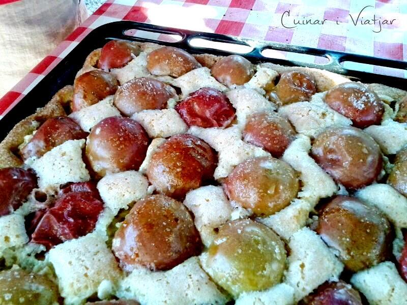 Tarta con manzanas agridulces receta postre