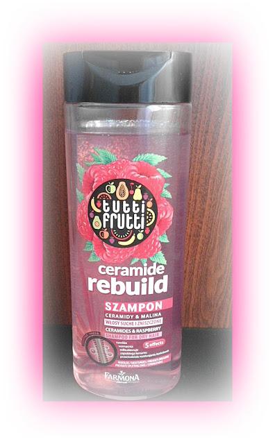 Owocowa pielęgnacja włosów- tutti frutti malinowy szampon do włosów Farmona