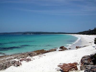 La Playa más blanca del mundo, Hyams Beach - Australia