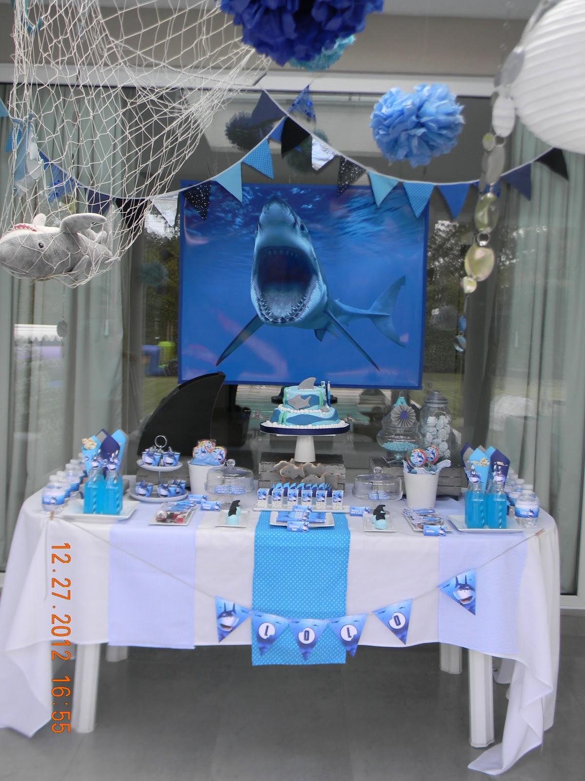 Cumples Tematicos Cumplea 241 Os De Tiburones Shark Party