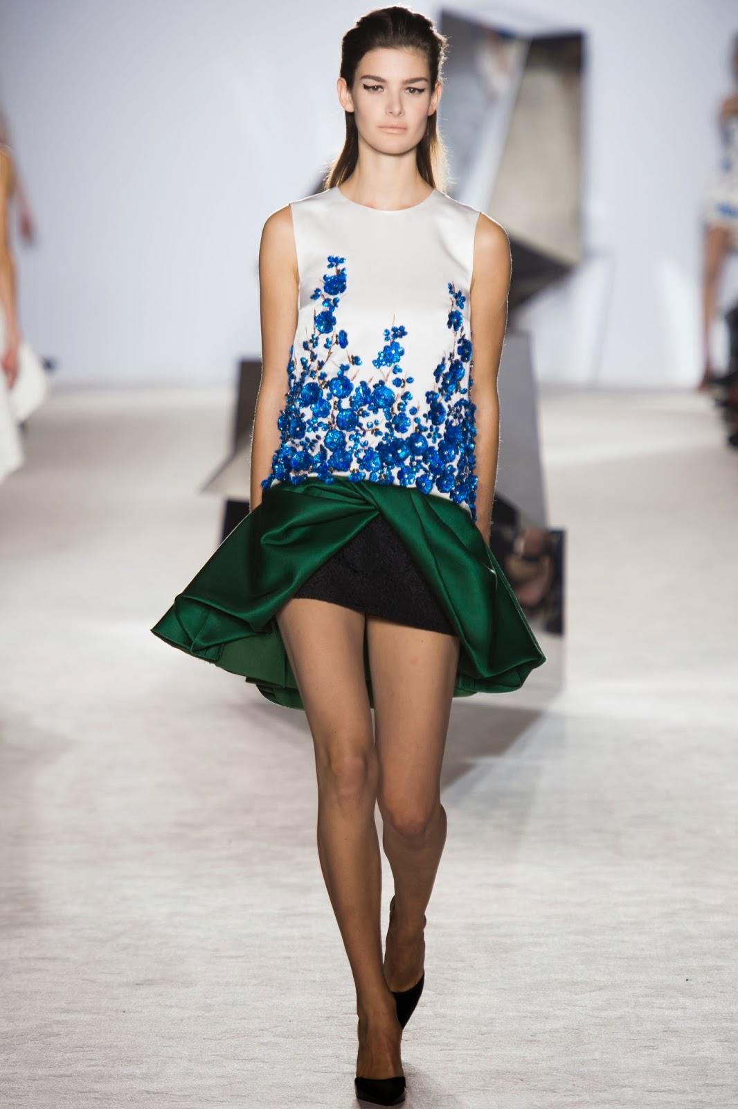 Anobano's Blog: Giambattista Valli Spring 2014 Haute Couture