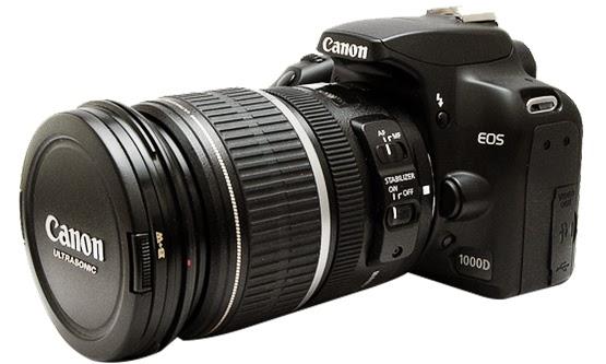 Harga dan Spesifikasi Lengkap Kamera Canon EOS 1000D Terbaru 2015