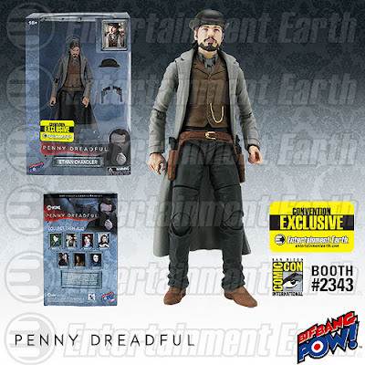 "San Diego Comic-Con 2015 Exclusive Penny Dreadful 6"" Action Figures by Bif Bang Pow! – Ethan Chandler"