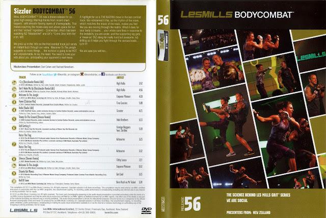 Les Mills Body Combat 56 Dvd