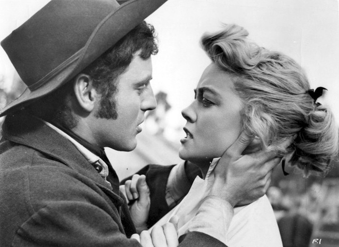 Five Guns West (1955) starring John Lund, Dorothy Malone and Mike