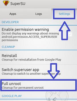 Cara Unroot Android Mudah