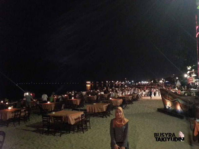 DINNER TEPI PANTAI #THROWBACK1 BALI