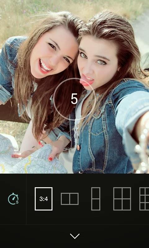 B612 - Selfie with the heart screenshot