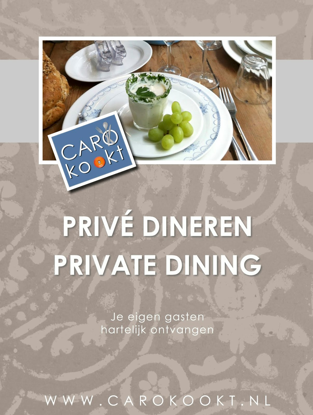 PRIVE DINER / PRIVATE DINING