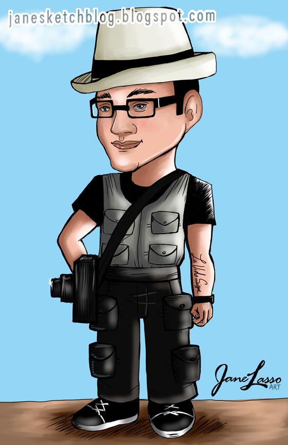 Caricatura por encargo en Panamá