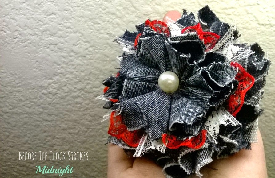 old jeans craft
