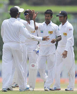 Sri Lanka-Bangladesh 1st test ends in draw