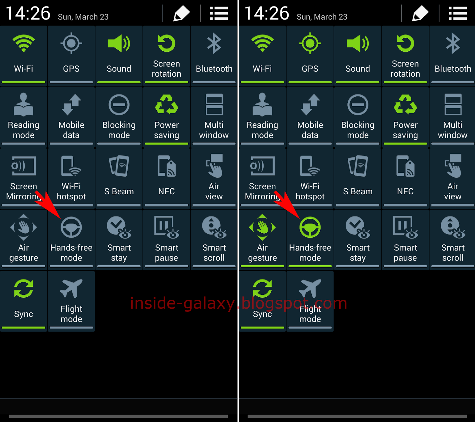Samsung Galaxy S4 How To Enable Disable And Configure Hands Free