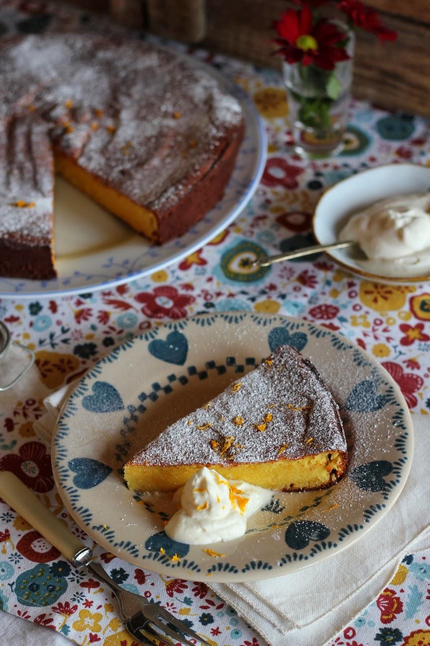 Claudia Roden's Orange And Almond Cake Recipe — Dishmaps