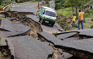 Philippines 7.1 Earthquake, 20 Dead, Philippines earthquake