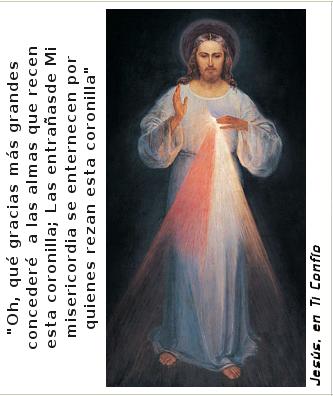 imagen de jesus para propagar divina misericordia