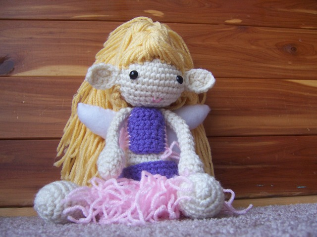 Amigurumi Fairy Pattern : xX The Catalope Blogs Xx: Fairy Doll Amigurumi - January ...
