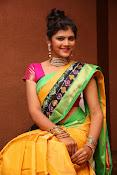 Sangeetha Kamath dazzling saree photos-thumbnail-8