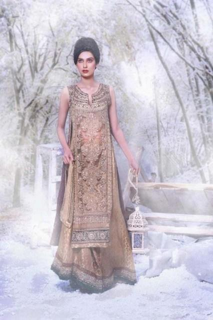 Latest Winter Formal Wear Collection By Asifa Nabeel Fashion World