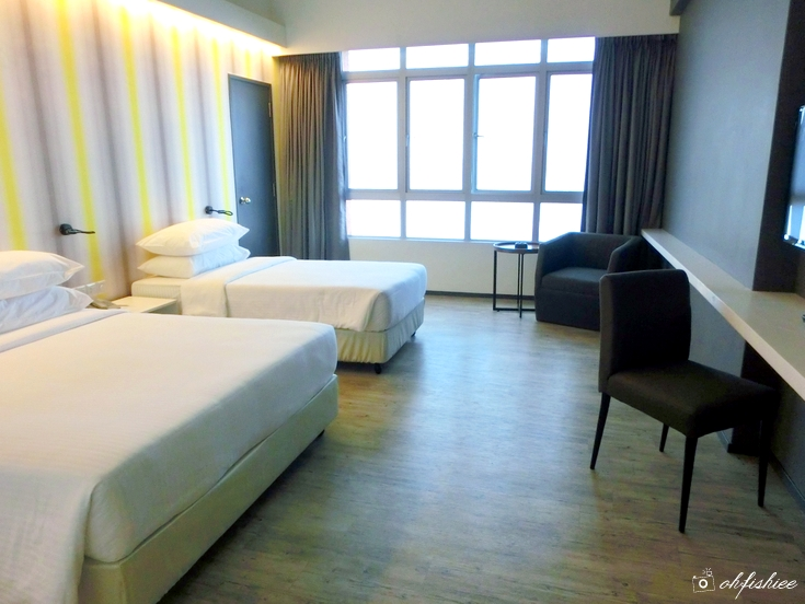 Oh Fish Iee Review First World Hotel New Tower 2 Annex Room