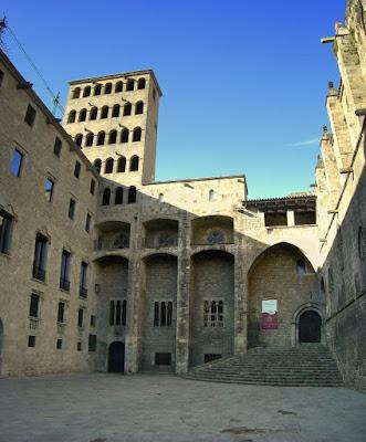 Plaça del Rei in Gothic Quarter