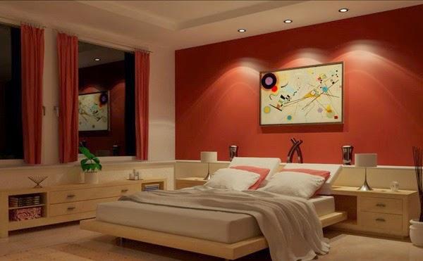 Beautiful Chambre A Coucher Peinture Rouge Images - Design Trends ...