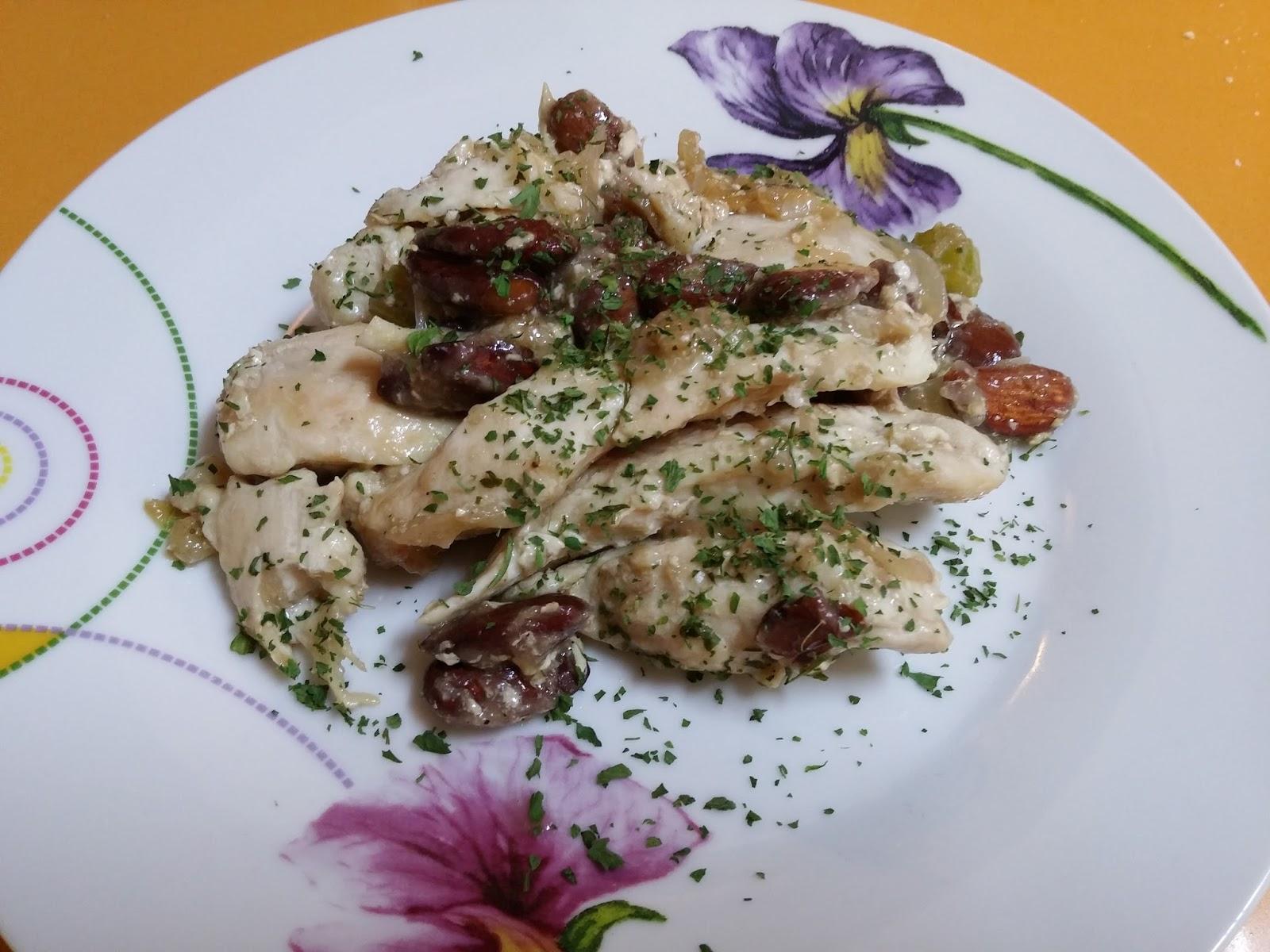La cocina f cil de silvia pollo con almendras - Pollo con almendras facil ...