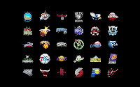 NBA 2K13 Bootup Screen with New NBA Logos