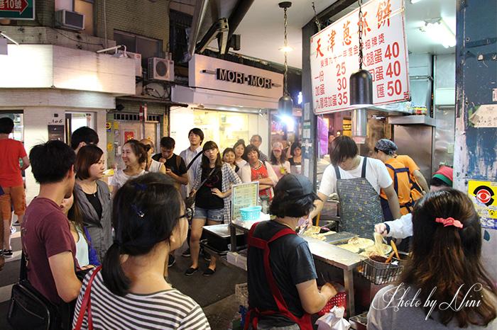 【台北大安區】天津蔥抓餅。永康街排隊美食熱店