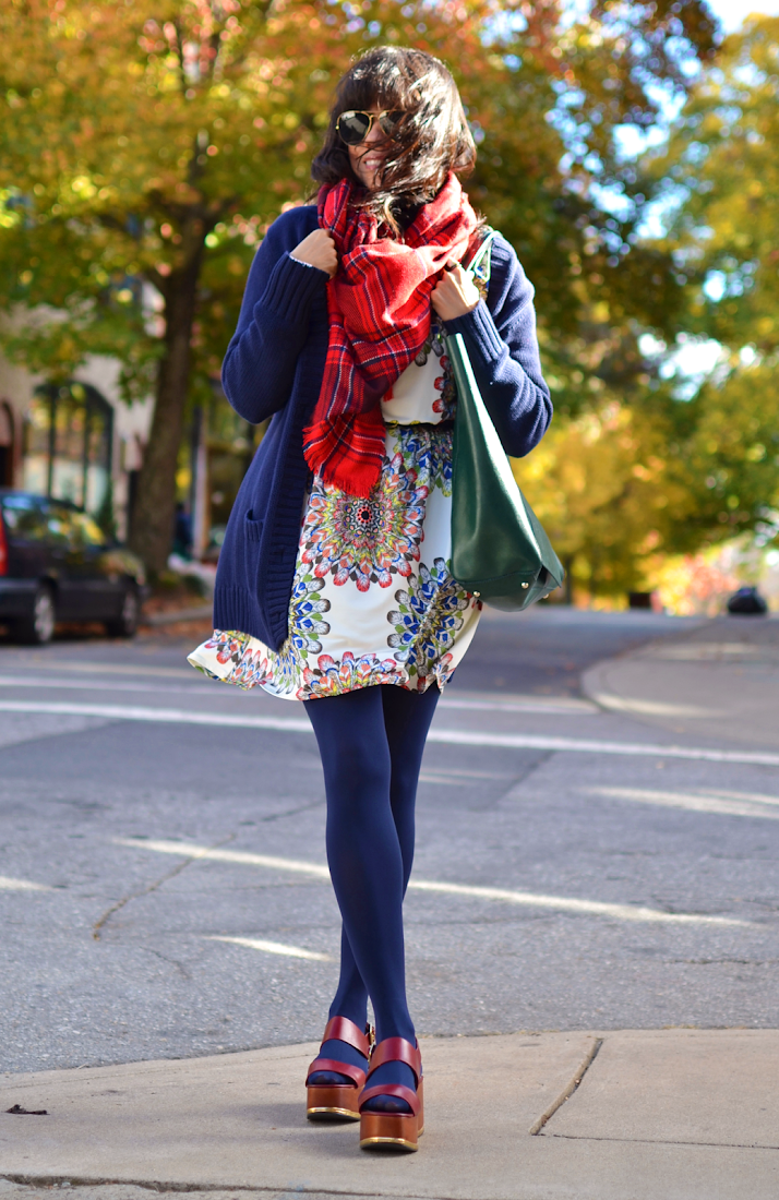 Jewel Colors Street Style