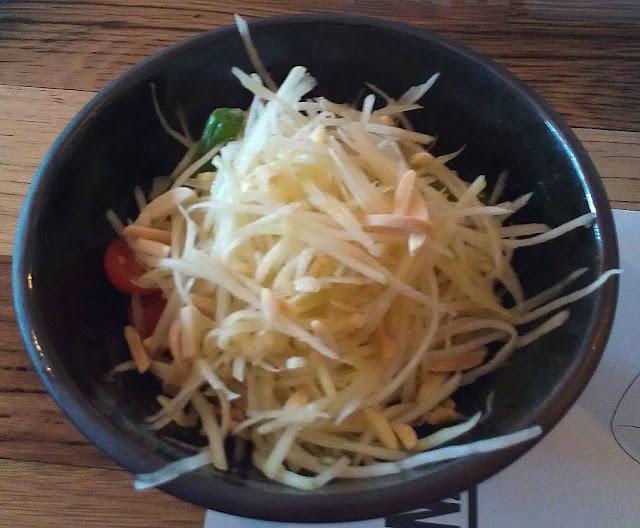hattori hanzo, cheltenham, green papaya salad