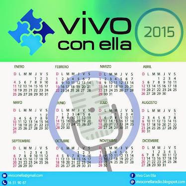 CALENDARIO 2015 VIVO CON ELLA