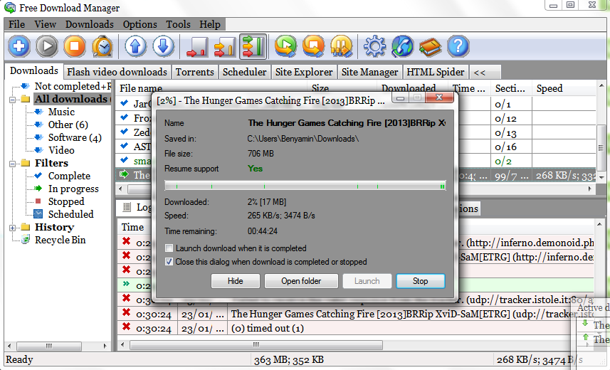 Free Download Manager Torrent Client