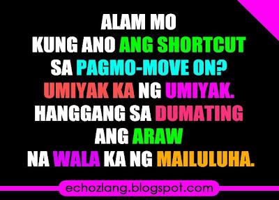 Ang shortcut ng pagmove-on.