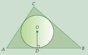 contoh soal dan pembahasan jari-jari lingkaran dalam segitiga