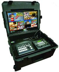 New Compact PortaCast® Mini Flypack for Live Multi-Cam HD Production
