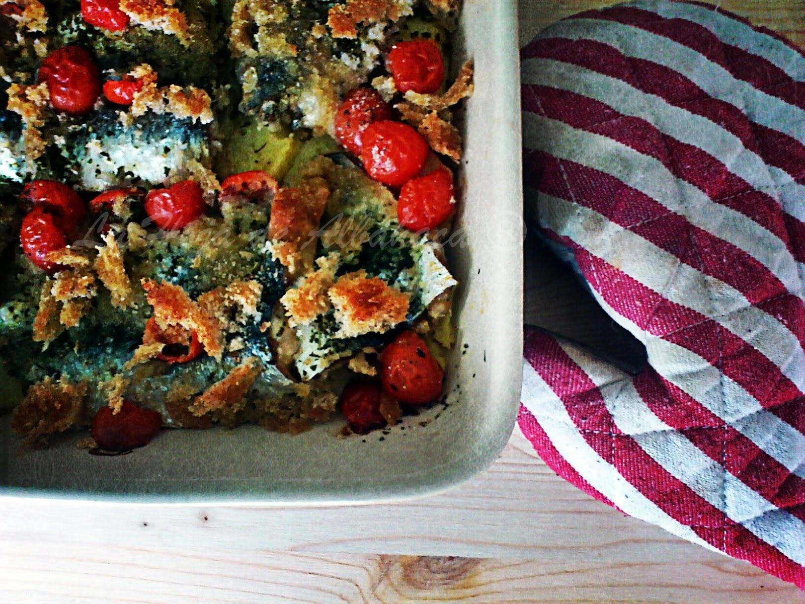 receta Sardinas, sardinas al horno con patatas