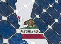 California in a sea of solar panels (Credit: greentechmedia.com) Click to Enlarge.
