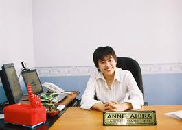 Anne Ahira, pendiri Asian Brain