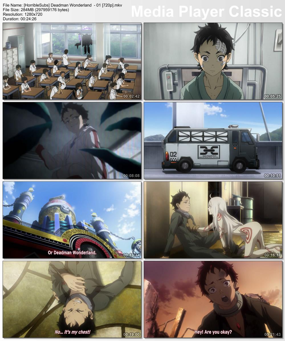 Animelando // Anime.is.my.life: Deadman Wonderland 01