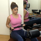 Shamita Shetty @ Gym Workout Photo Gallery