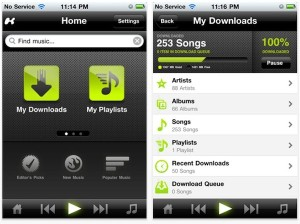 Kazaa Mobile Music App Now Available for Apple iPhone and iPad