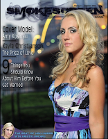 Amy Kosinski Smoke Screen Magazine Cover this month