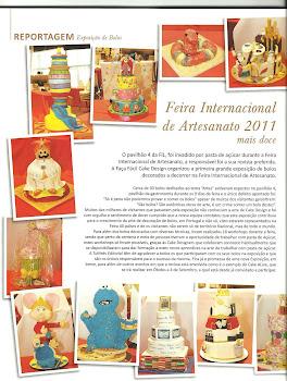 Reportagem da FIL na revista Faça Fácil Cake Design