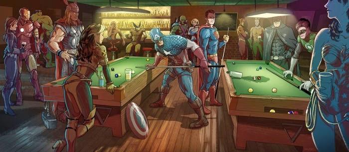 DC vs Marvel BeritaSuperhero.Com