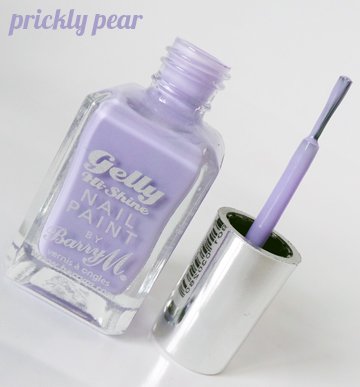 Review - Barry M Gelly Hi Shine Nail Paint - Prickly Pear