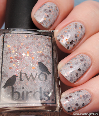 Two Birds Lacquer - Late Night Milo