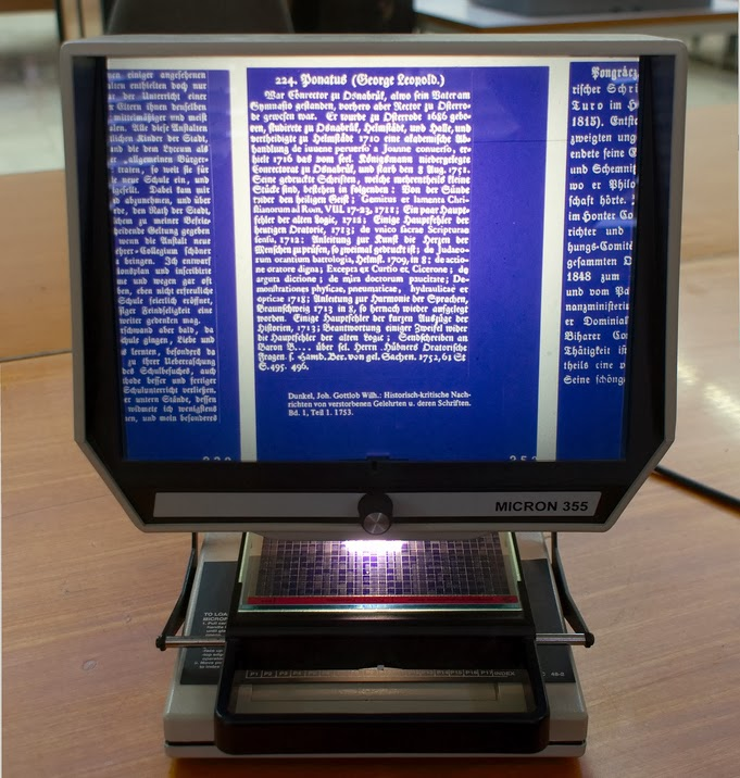 how to make a microfiche