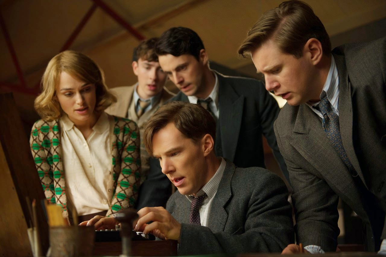 the imitation game-keira knightley-benedict cumberbatch-matthew beard-matthew goode-allen leech