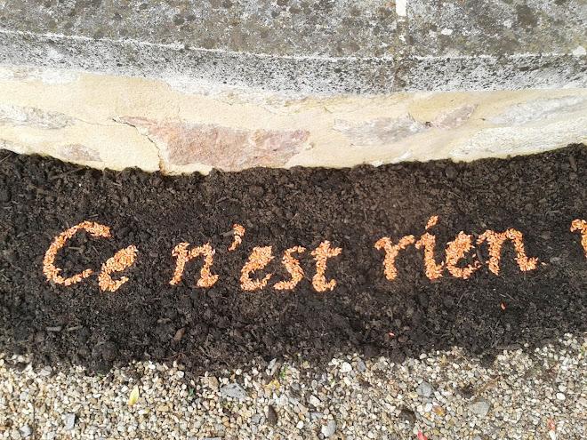 """""""Ce n'est pas"""" 2013 orge"""